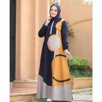 Gamis Muslim Wanita Dewasa Casual Baju Cewek Muslimah Syari Terbaru