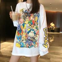 T-Shirt Tumblr Tumbler Tee Kaos Lengan Panjang BTS Oversized Wanita