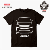 Kaos Baju Mobil Suzuki APV Arena Kaos Otomotif - Karimake