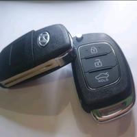 kunci remote alarm Lipat Flip Key Hyundai