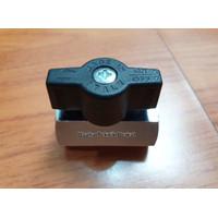 Mini ball valve italy 1/4 inch female female