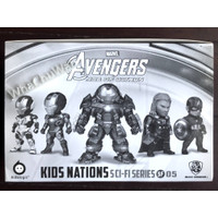 Kids Nations - The Avengers of Ultron Series - [SF05] -Isi 5 Figurines