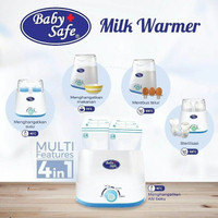 Baby Safe Twin Bottle Warmer | Pemanas Botol Susu Asi Sterilizer LB216