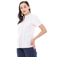 Baju Atasan Wanita Kekinian 2020 Shopia Blouse Pink - M