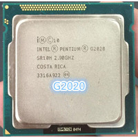 intel pentium G2020 Processor cpu Gen 3