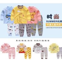 Pakaian Piyama Jumper Anak Pria Wanita Impor Korea 6 Bulan-3 Tahun