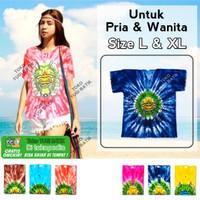 Baju Barong Pelangi Baju Pantai Baju Bali L & XL Pria Wanita - Varian