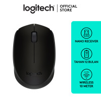 Logitech B170 Mouse Wireless - Black