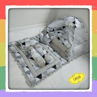 kasur bayi kelambu set bantal guling bayi dan selimut bayi baby nest
