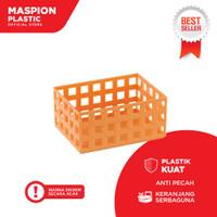Maspion Keranjang Plastik Serbaguna Small - Mesh Basket S