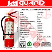 APAR 3 Kg Alat Pemadam Api Ringan Fire Extinguisher ABC Dry Powder