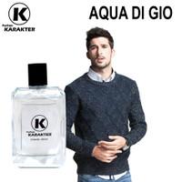 Parfum Cowok Aroma Aqua Digio Parfum Bibit Import  Kemasan 100ml