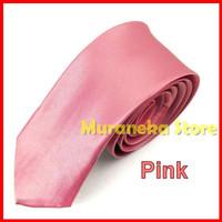 Dasi Slim Pria Fit Slimfit 2 inch Polos Tie Panjang Formal Warna Hitam