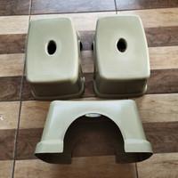 Bangku Jongkok Segi/ Kursi Pendek/ Bangku Cucian/ Bangku Plastik Kecil