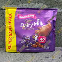 Cadbury Dairy Milk 40 mini bites malaysia