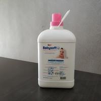 YURI BABYSOFT PELEMBUT DAN PEWANGI PAKAIAN 3.7 liter SOFTENER ORIGINAL