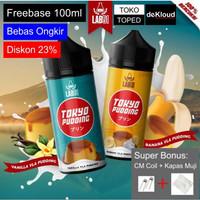 LAB51 TOKYO PUDDING 100ml   freebase liquid banana vanilla puding