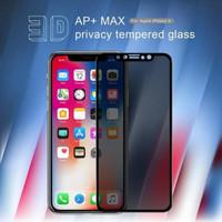 IPHONE X / XS 5.8 NILLKIN 3D AP+MAX ORI TEMPERED GLASS SPY PRIVACY 9H