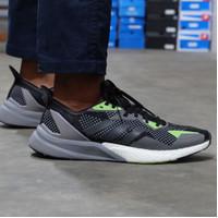 Sepatu Original Adidas X9000L3 Black Grey Green bnwb