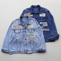 Baju Atasan Wanita Jumbo Jaket Dream Jeans Big Size XXL TerUpdate Ch