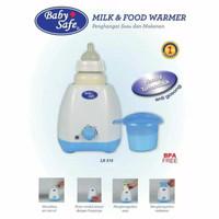 Baby Safe Milk & Food Warmer Single Alat Pemanas Botol Susu ASI LB215