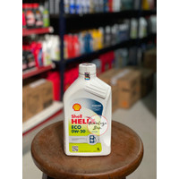 Oli Mesin Shell Helix ECO 0W 20 LCGC Khusus Mesin Bensin. (1 Liter)