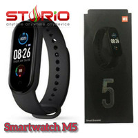 Smartwatch Smart Watch M5 Mirip Mi Band 5 Multi Theme BERGARANSI