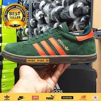 Sepatu Pria Adidas Spezial Hijau Orange-Import-Madein Vietnam