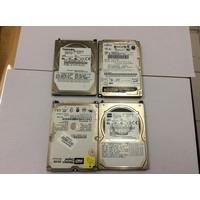 Harddisk Laptop IDE ATA Bekas Kondisi Rusak