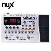 Multi Efek Gitar Pedal Stompbox Guitar Modeling Processor NUX MG-20