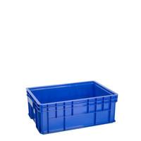 46x35x14 Box Container Green Leaf 2301 Bak Industri Kolam Ikan Plastik