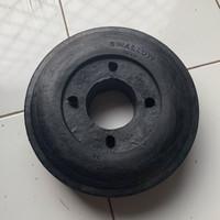 Roda ban karet lori / lory / troli / troly 10 inch swallow (tanpa velg