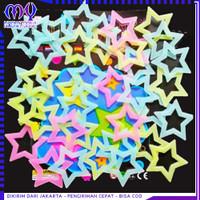 Stiker Bintang Bolong Glow In The Dark / Stiker Dinding Bercahaya