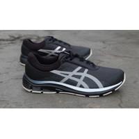 Sepatu Running Original Asics Gel Pulse 12 AWL graph grey silver bnwb