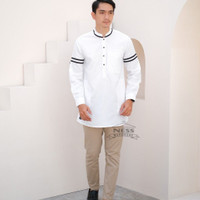 Baju koko pria dewasa lengan panjang modern modis trendy