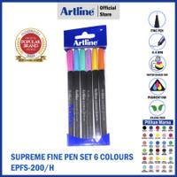 ARTLINE Spidol Writing Supreme Fine Pen EPFS-200/6W (6 BUAH)
