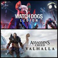 Watch Dogs Legion + Assassins Creed Valhalla PC Uplay Sharing OFFLINE