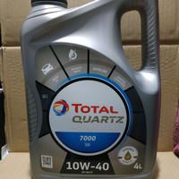 Oli Mobil Total Quartz 7000 10w-40 Galon