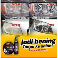 Headlight Polish Restorer ( Pengkilap Lampu Mobil ) Pembersih Lampu