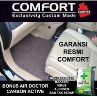 Karpet Mobil COMFORT Honda Brio / Brio Satya 2baris Deluxe Original