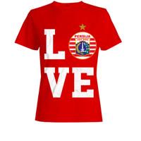 T-Shirt Persija Love Red 2020