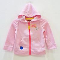 Jaket anak perempuan CAT&JACK hello friends panda pink