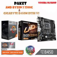PAKET RYZEN 3 3200G + MB GIGABYTE B450M-DS3H V2