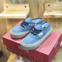 Sepatu Anak Vans Authentic Biru Muda Great Original