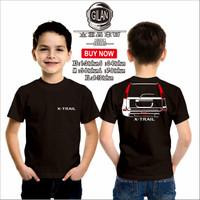 Kaos Baju Anak Mobil Nissan X-Trail Xtrail Rear Kaos Anak Otomotif