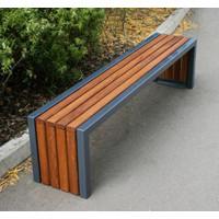 Modern Wood Bench // Kursi Taman // Kursi Besi Kayu - Model P1