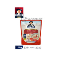 QUAKER Oat Oatmeal Instant Merah 1.2 kg