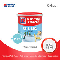 Q-LUC -4,5KG- CAT DINDING INTERIOR NIPPON PAINT