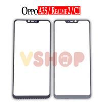 GLASS LCD - KACA TOUCHSCREEN OPPO A3S - REALME C1 - REALME 2
