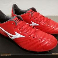 Sepatu Bola Mizuno Morelia Neo ll Leather Red White